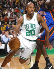 NBA Players: Ray Allen Profile and Basic Stats